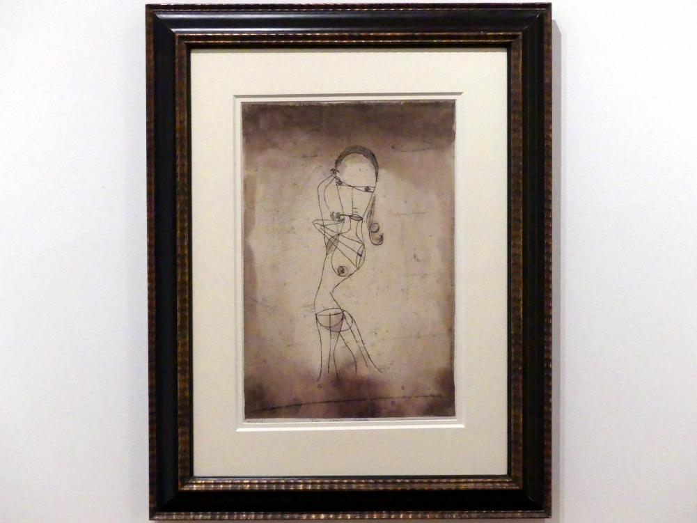 Paul Klee: Wissen, Schweigen, Vorübergehen, 1921