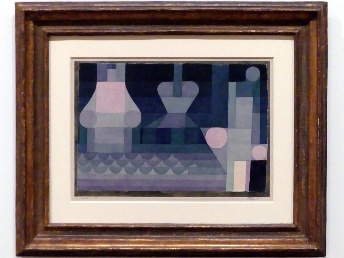 Paul Klee: Schleusen, 1922