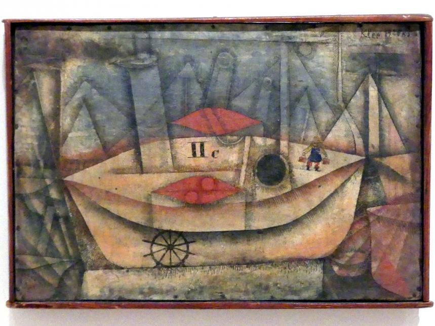 Paul Klee: Schiff II c im Hafen, 1925