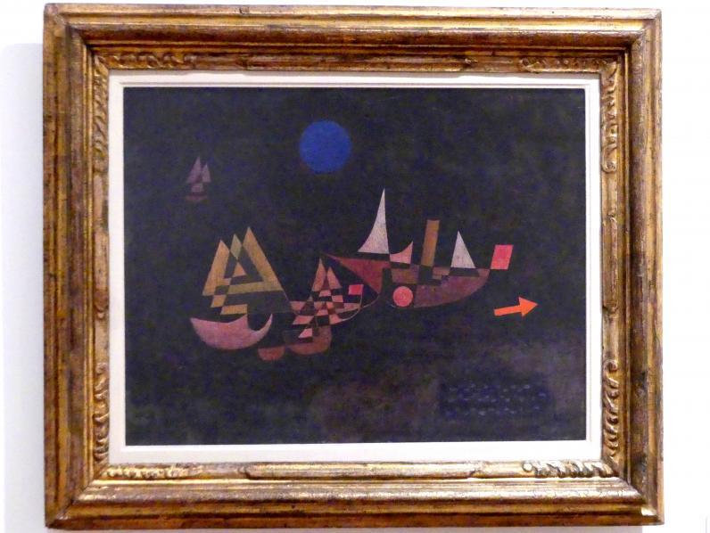 Paul Klee: Abfahrt der Schiffe, 1927