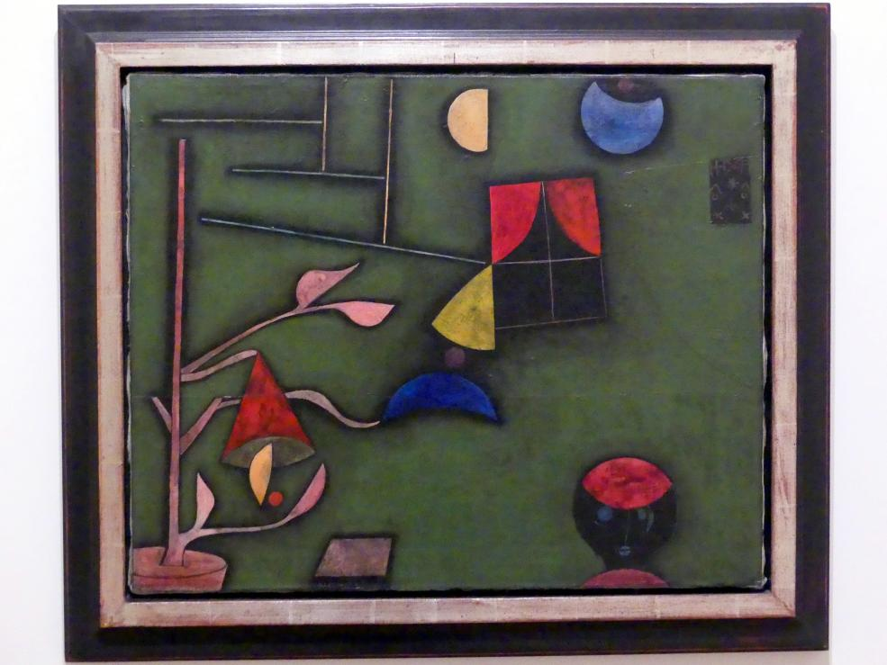 Paul Klee: Pflanze und Fenster Sillleben, 1927
