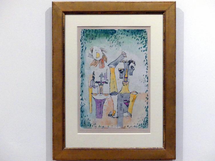 Paul Klee: Schwarzmagier, 1920