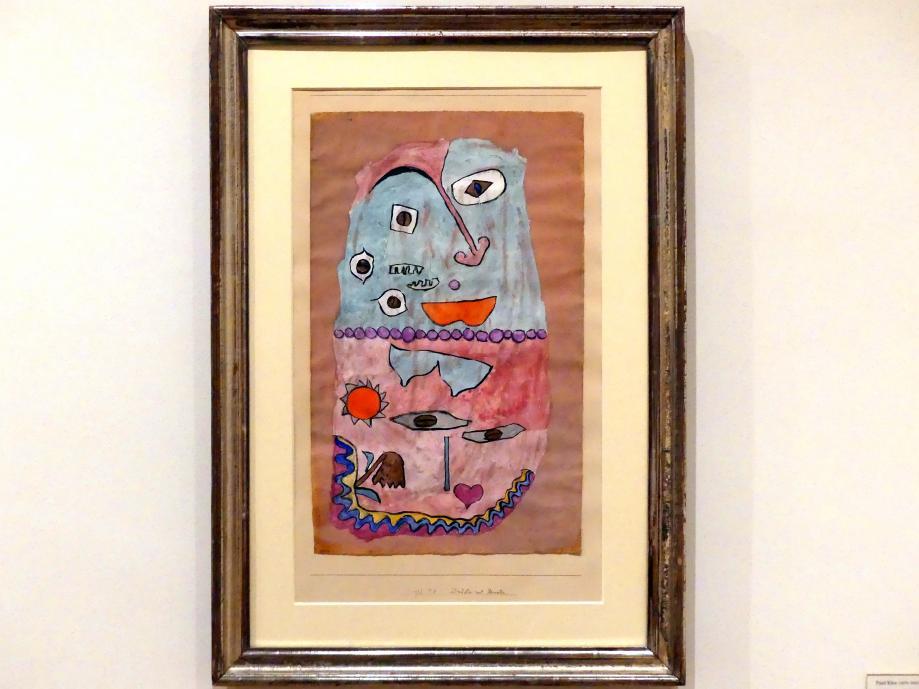 Paul Klee: Drüber und drunter, 1932