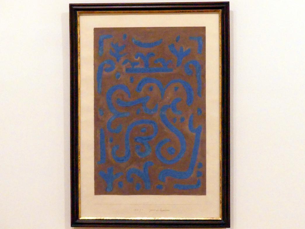 Paul Klee: Gedicht bei Tages-Grauen, 1938