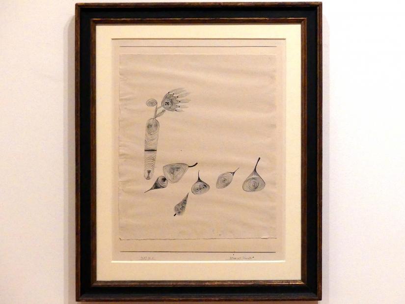 Paul Klee: Blume und Fruechte, 1927