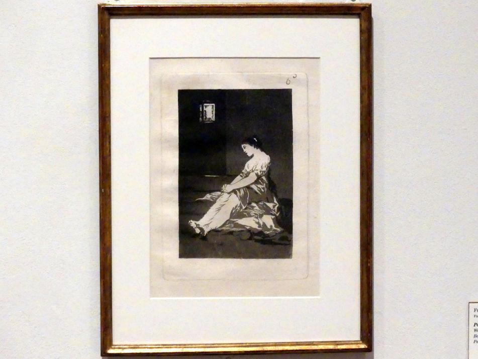 Francisco de Goya (Francisco José de Goya y Lucientes): Weil sie empfindlich war, 1797 - 1798