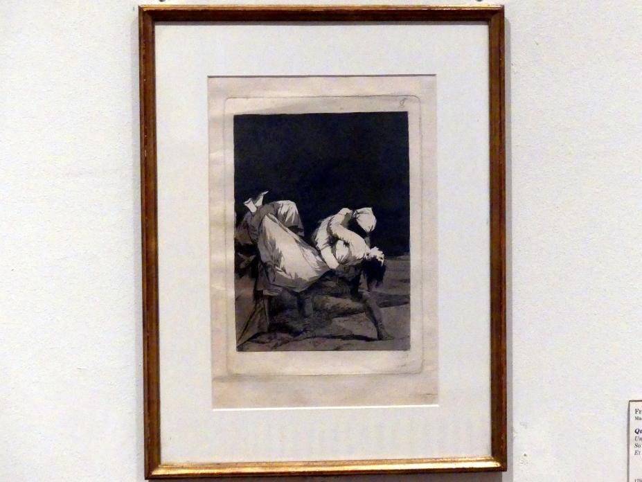 Francisco de Goya (Francisco José de Goya y Lucientes): Und sie haben sie entführt!, 1797 - 1799