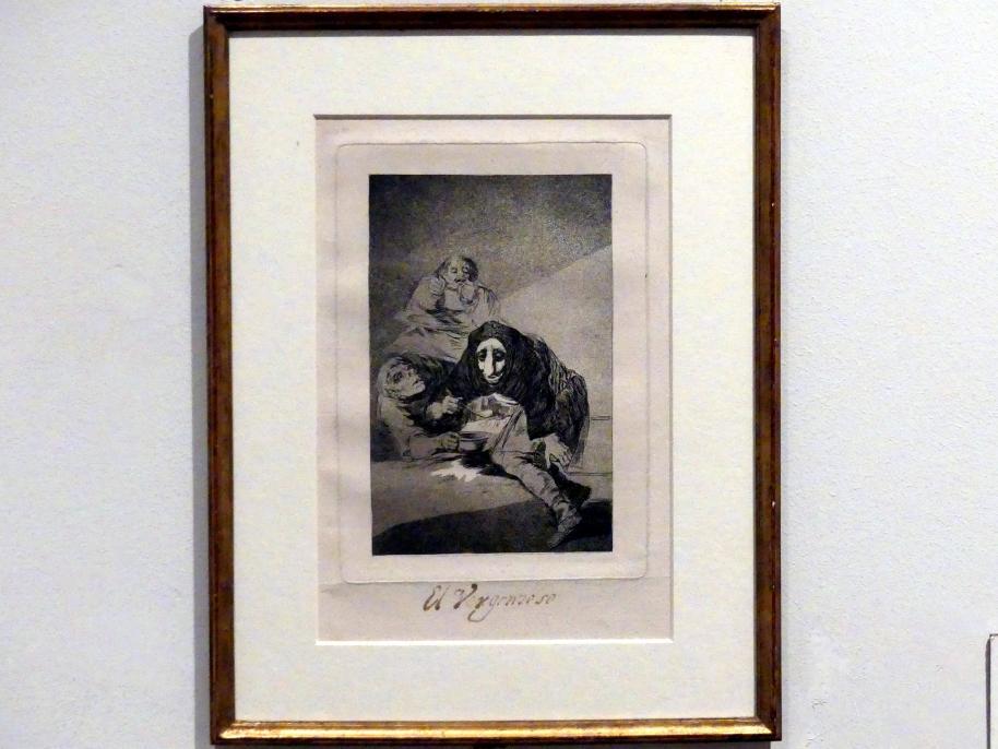 Francisco de Goya (Francisco José de Goya y Lucientes): Der Schamhafte, 1797 - 1798