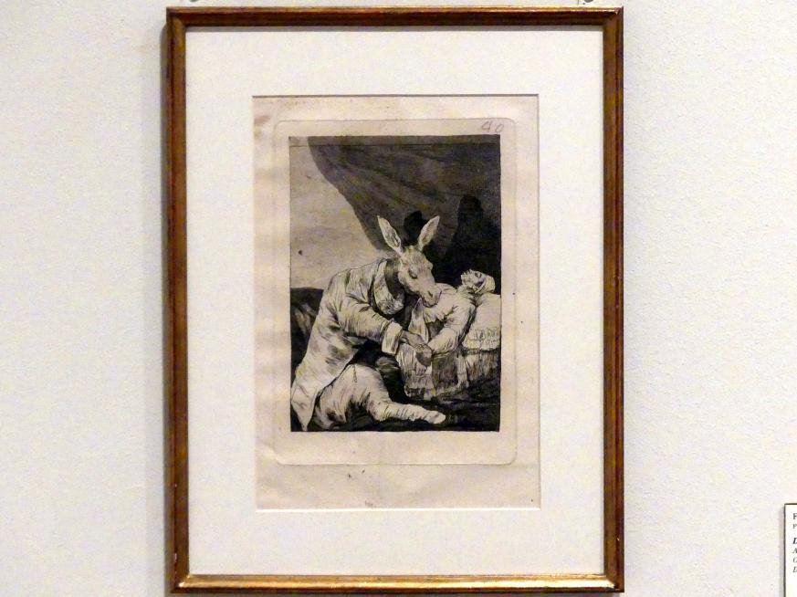 Francisco de Goya (Francisco José de Goya y Lucientes): An welchem Übel wird er sterben?, 1797 - 1798