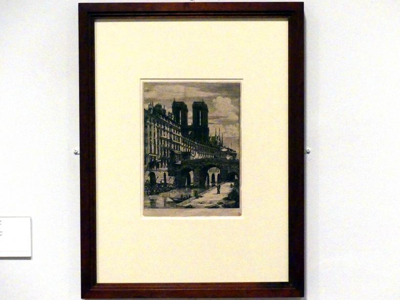 Charles Méryon: Die kleine Brücke, 1850