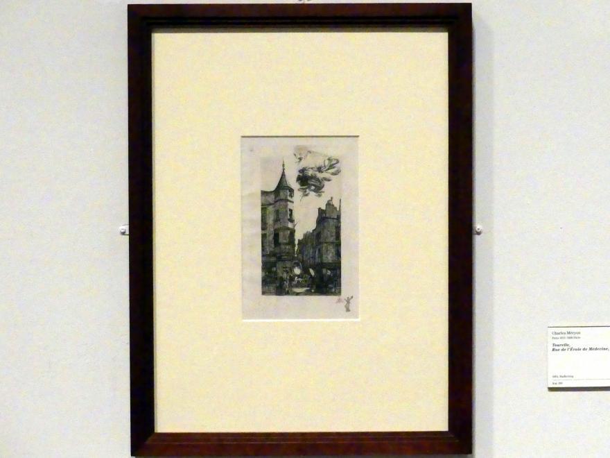 Charles Méryon: Tourelle, Rue de L'Ecole de Medecine, 22, 1861