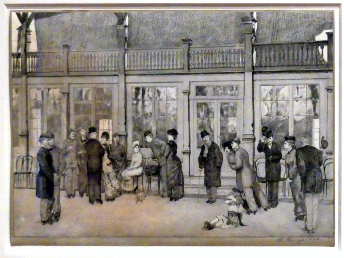 Max Klinger: Phantasien über einen gefundenen Handschuh, der Dame, die ihn verlor, gewidmet, 1878
