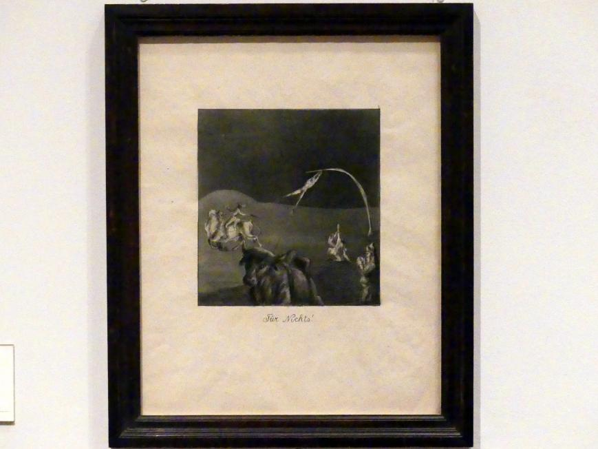 Alfred Kubin: Für Nichts!, um 1904 - 1906