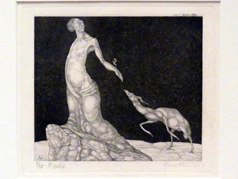 Paul Klee: Weib und Tier (1904, 13), 1904, Bild 2/3