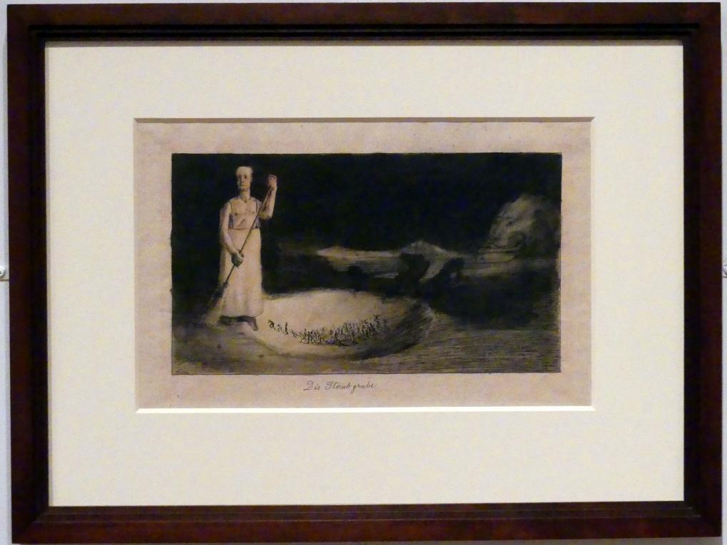 Alfred Kubin: Die Staubgrube, 1903