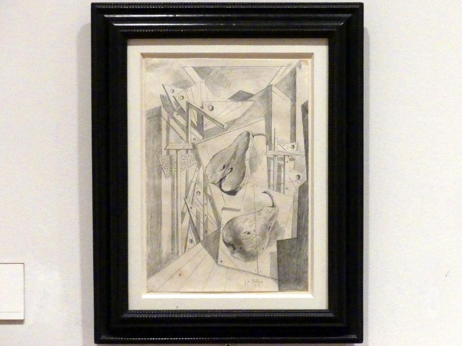 Giorgio de Chirico: Herbstliche Geometrie, 1917