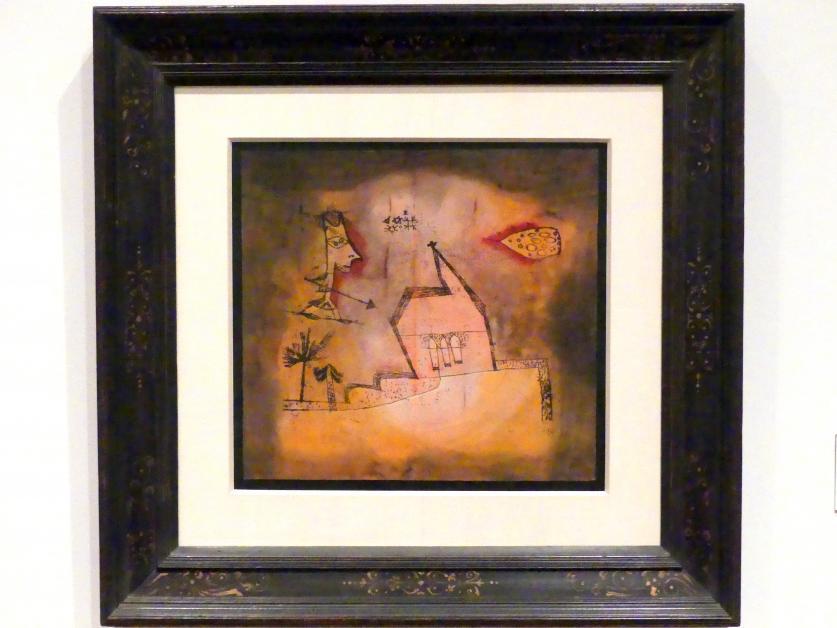 Paul Klee: bebende Kapelle (1924, 247), 1924