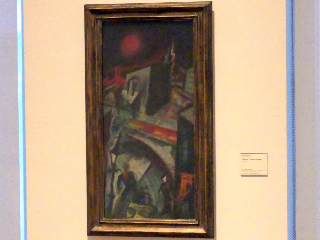 George Grosz: Nachtstück (Berlin-Südende), 1915