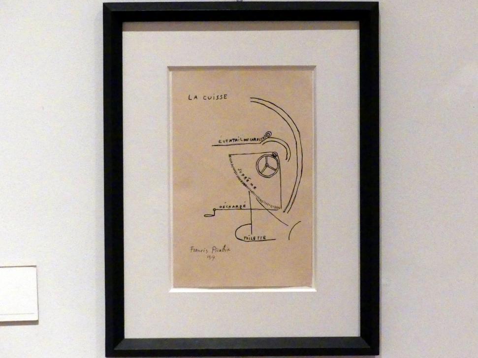 Francis Picabia: Der Schenkel, 1917