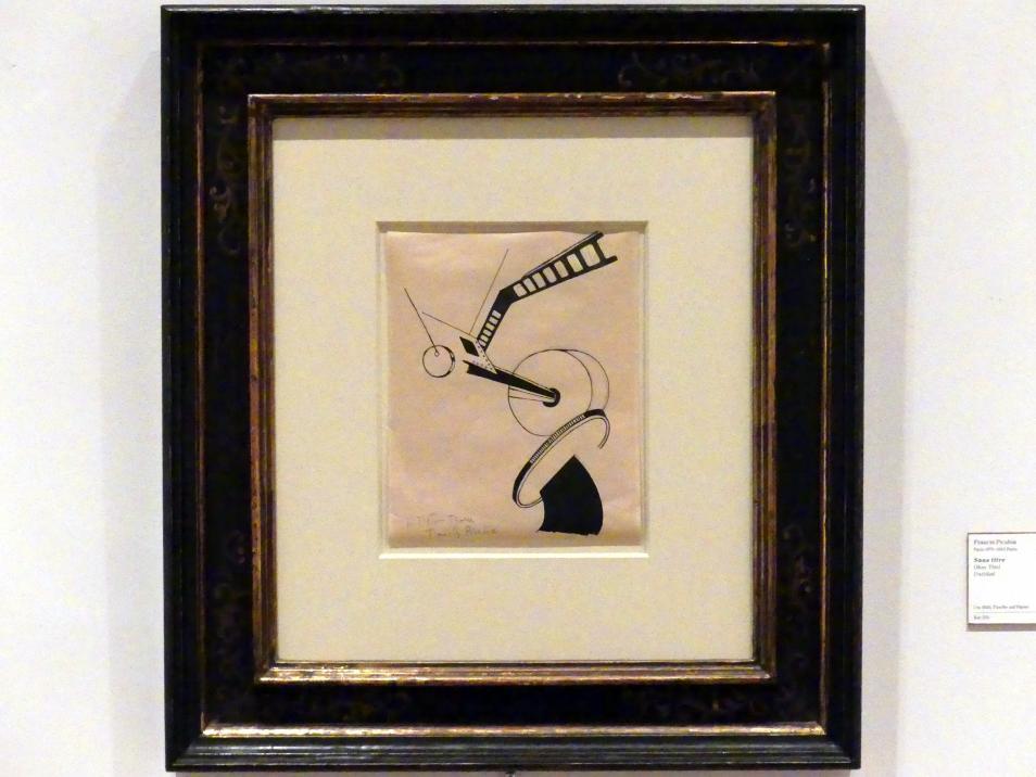 Francis Picabia: Ohne Titel, um 1920