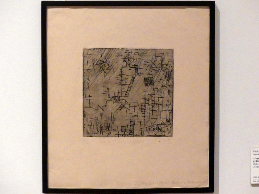 "Paul Klee: ""Gaukler im April"" (1928, 197), 1928"