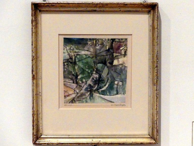 Paul Klee: Leitungsstangen (1913, 119), 1913