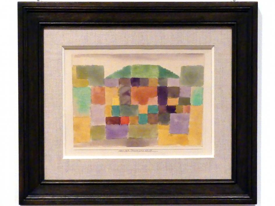 Paul Klee: Dünenlandschaft (1923, 162), 1923