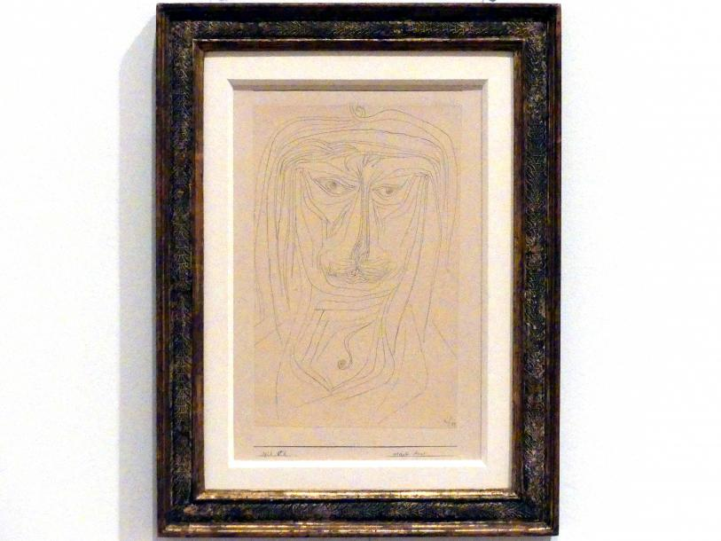 Paul Klee: gelehrter Asiat (1926, 52), 1926
