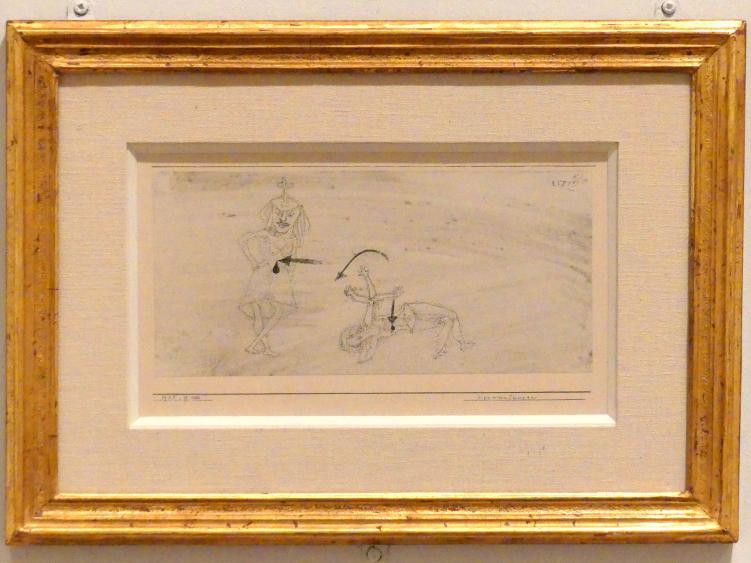 Paul Klee: Verwunderungen (1925, 166), 1925