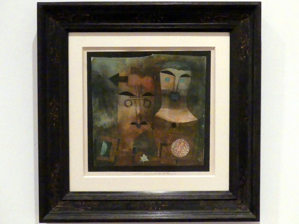 Paul Klee: ein Paar Götter (1924, 11), 1924