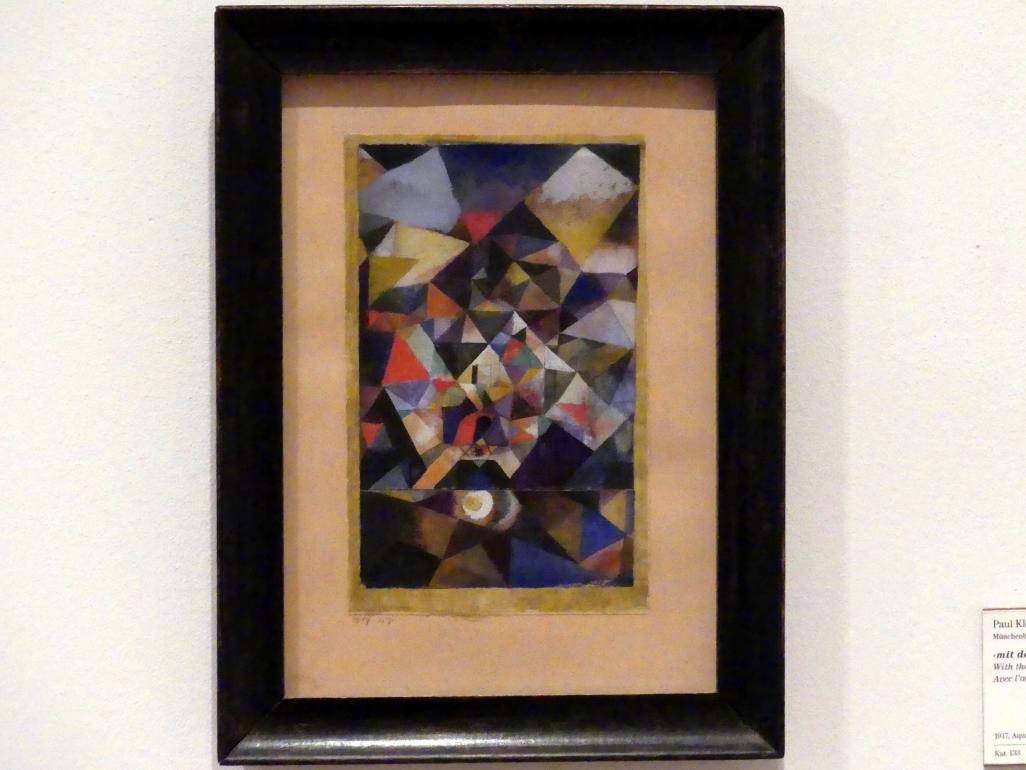Paul Klee: mit dem Ei (1917, 47), 1917
