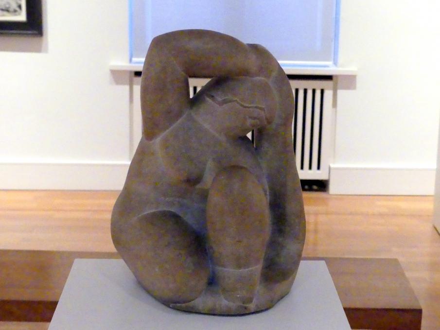 Henri Laurens: Kauernde mit Tuch, 1932