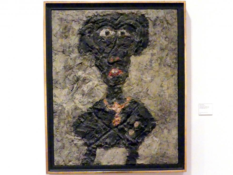 Jean Dubuffet: Jean Paulhan schwarzer Teufel, 1947