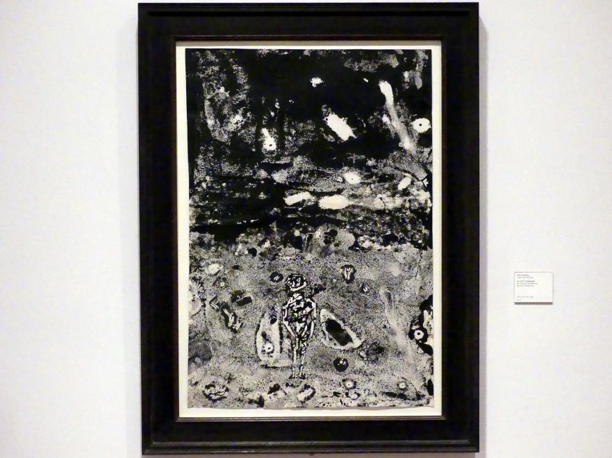 Jean Dubuffet: Der Himmel bewölkt sich, 1955