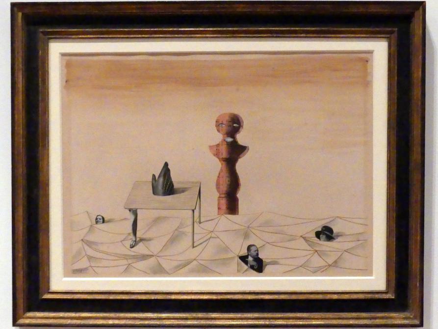 René Magritte: Ohne Titel, 1926