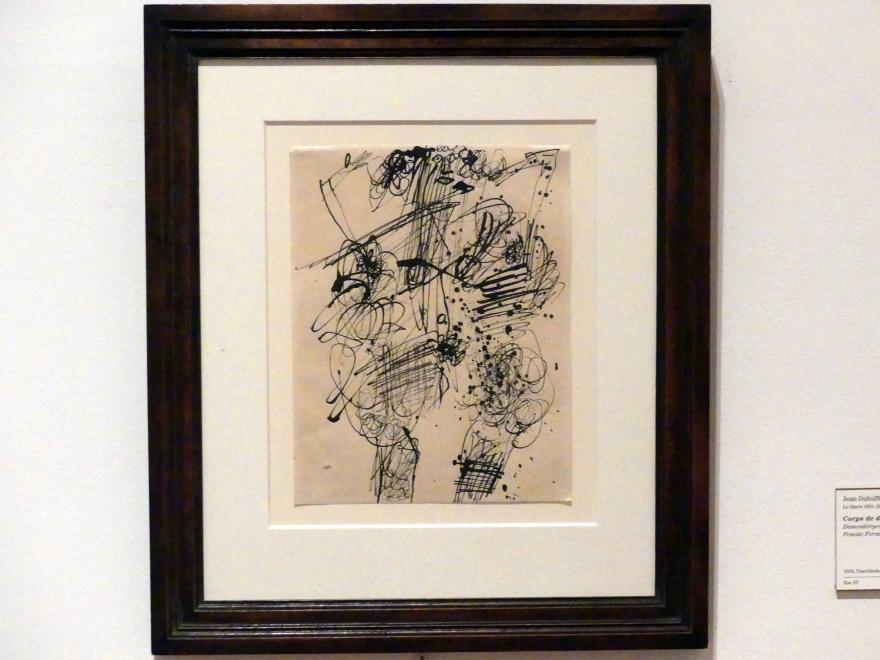 Jean Dubuffet: Damenkörper, 1950