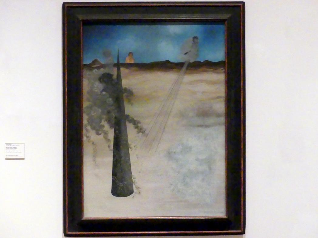 Yves Tanguy: Ich bin gekommen, wie ich versprochen hatte, Adieu, 1926