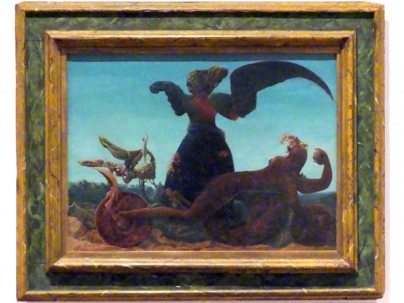 Max Ernst: Der Triumph der Liebe / falsche Allegorie, 1937