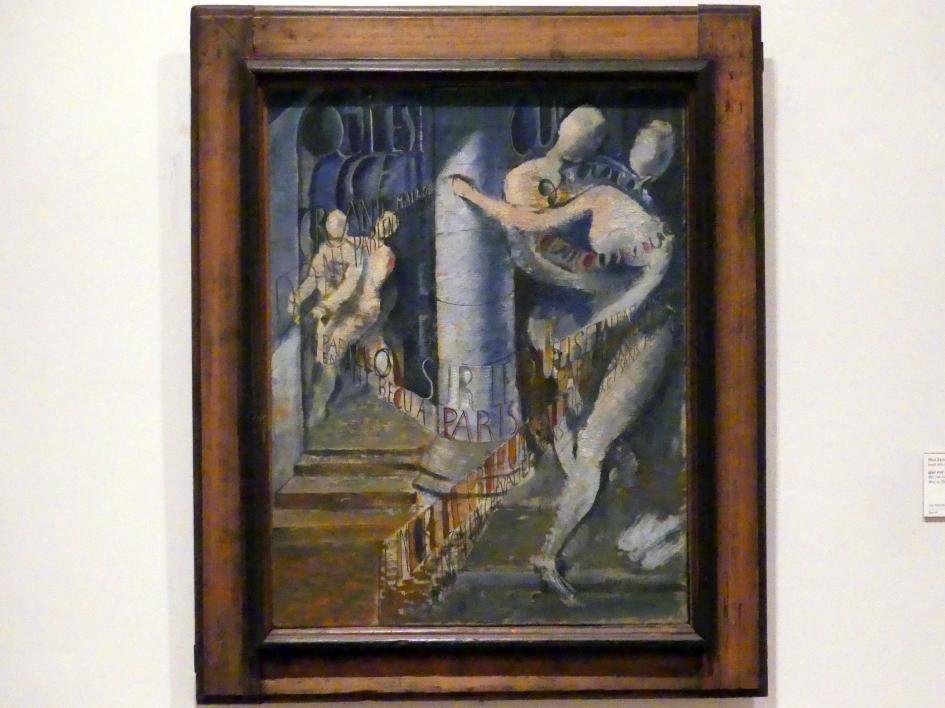 Max Ernst: Wer ist dieser große Kranke..., um 1923 - 1924
