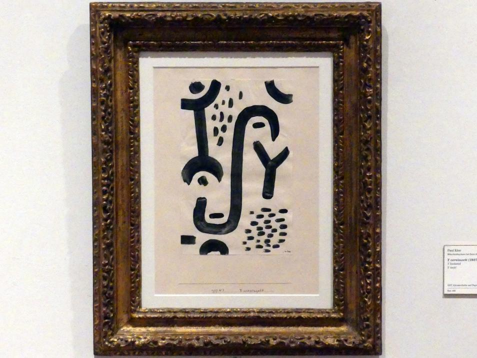 Paul Klee: Y vereinzelt (1937, 243), 1937