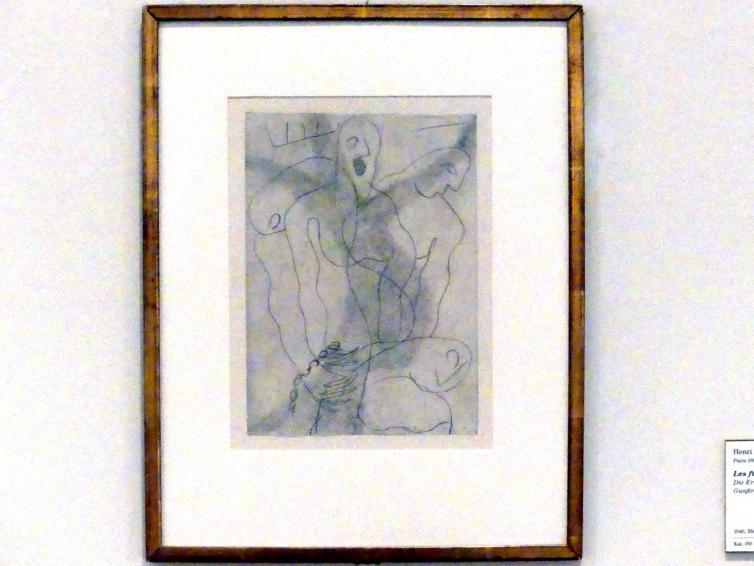 Henri Laurens: Die Erschossenen, 1946