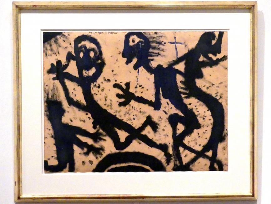 Louis Soutter: Vom Planeten zum Stern, 1938