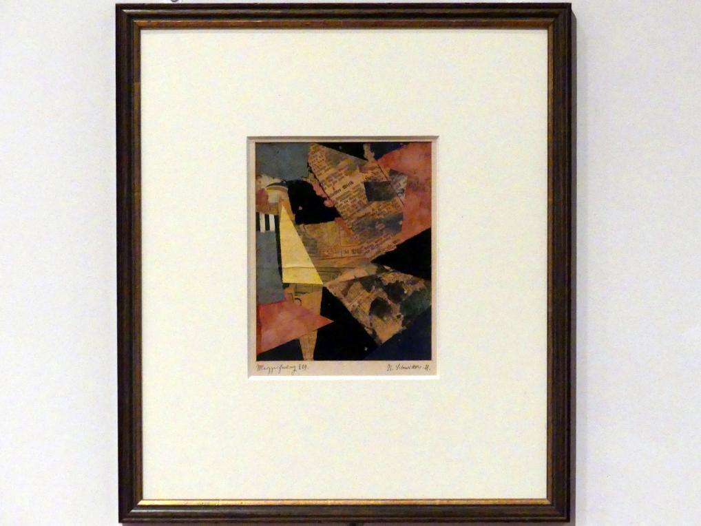 Kurt Schwitters: Merzzeichnung 229, 1921