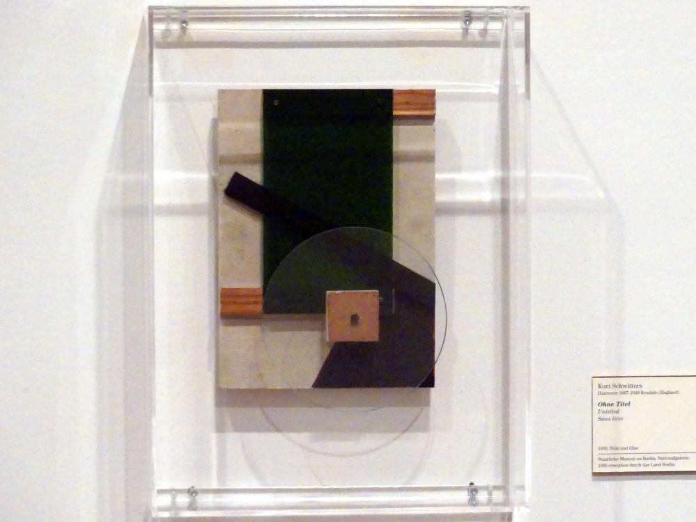 Kurt Schwitters: Ohne Titel, 1930
