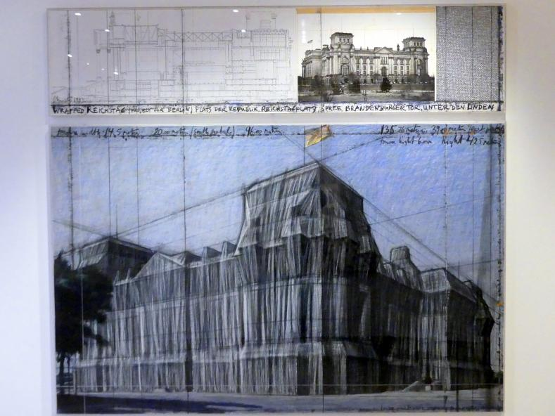 Christo: Wrapped Reichstag, Project for Berlin, 1993