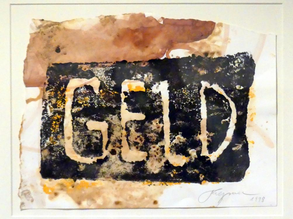 Felix Droese: Geld, 1998