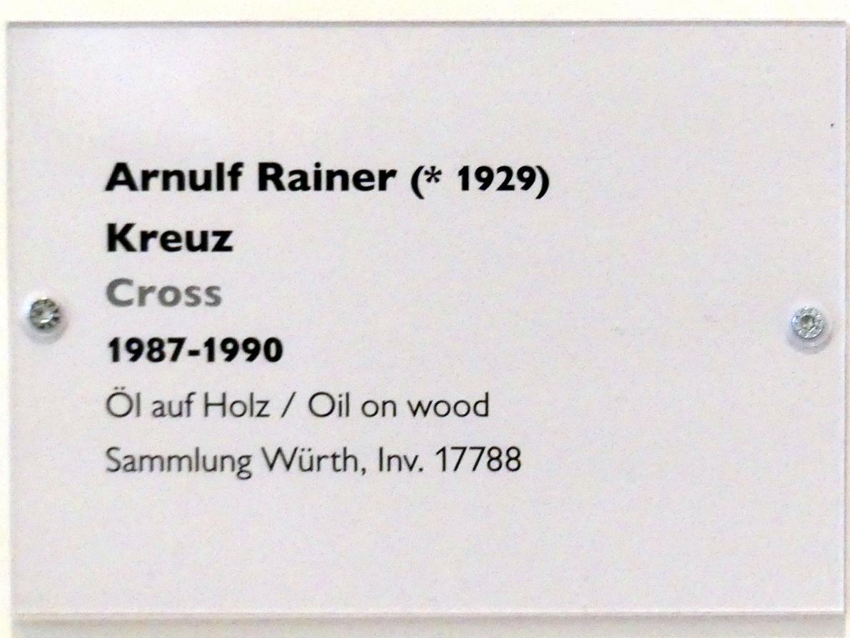 Arnulf Rainer: Kreuz, 1987 - 1990, Bild 2/2