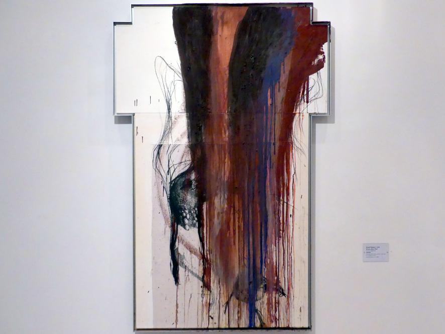 Arnulf Rainer: Kreuz, ohne Titel, 1988 - 1989