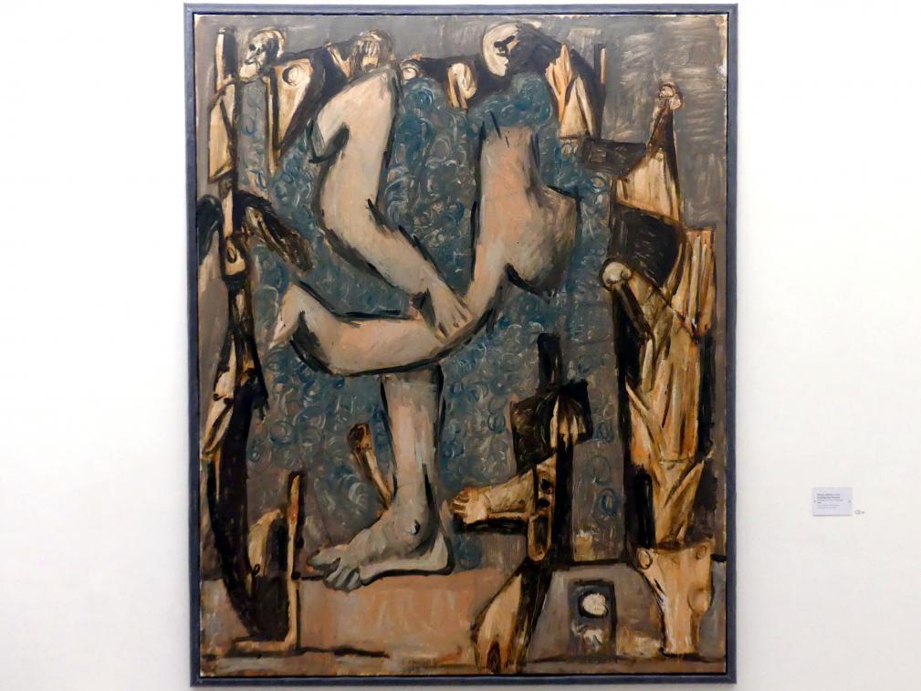 Markus Lüpertz: Frühling (nach Poussin), 1989