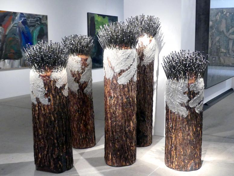 Günther Uecker: Wald aus einem Baum, 2002 - 2003